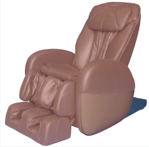 Sterling Silver Sensation ST-S130 'S' massage chair brown on brown